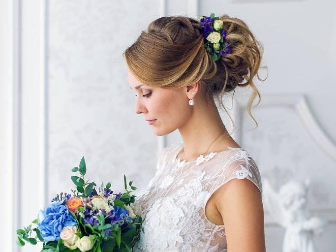 Brautfrisuren Mit Blumen Cool Inspirierend 20 Elegante Und Anmutige Hochzeit Frisuren Mit Blumen