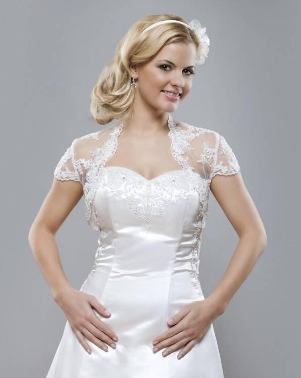 Hochzeitskleid Rot/weiß Gr