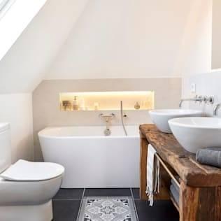 Kleine Badezimmer einrichten – 30 Ideen für ein modernes Bad