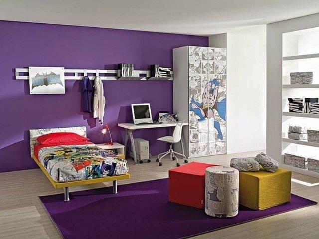 deko ideen schlafzimmer lila beeindruckend