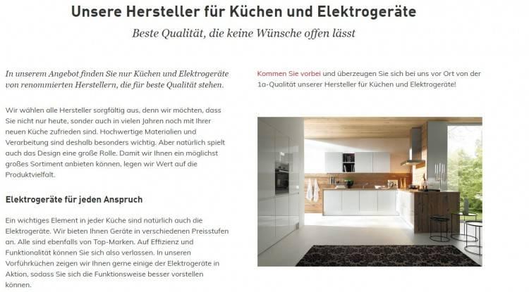 Küchen der Marke next125 stehen für authentische Lebensräume