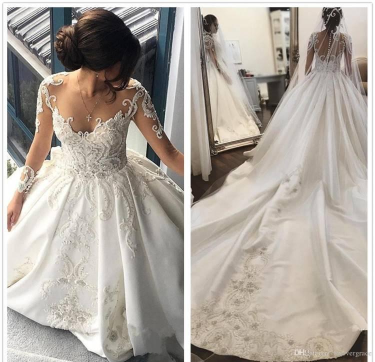 Großhandel Prinzessin Dubai Brautkleider Mit 3D Floral Applique Sexy Schulterfrei Lace Up Ballkleid Brautkleid Glamouröse Saudi Arabien Hochzeit Dres Von