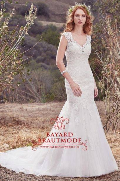 Brautkleid edel mit Schleppe #EglantineAir Gr