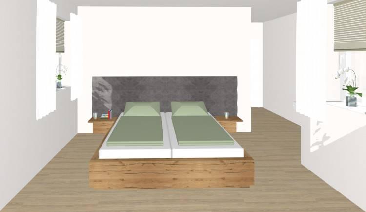 Landhausschlafzimmer Offenes Schlafzimmer Mit Ankleide Im Designerstil Bild