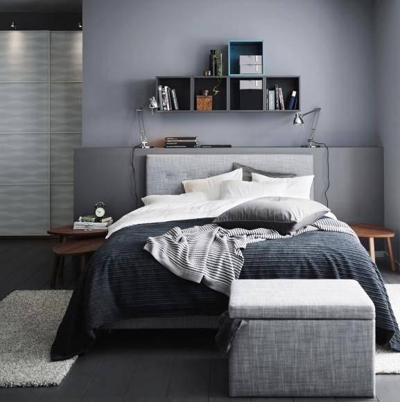 ideen schlafzimmer wand grau drehite herrlich kousoekiinfo blau schla