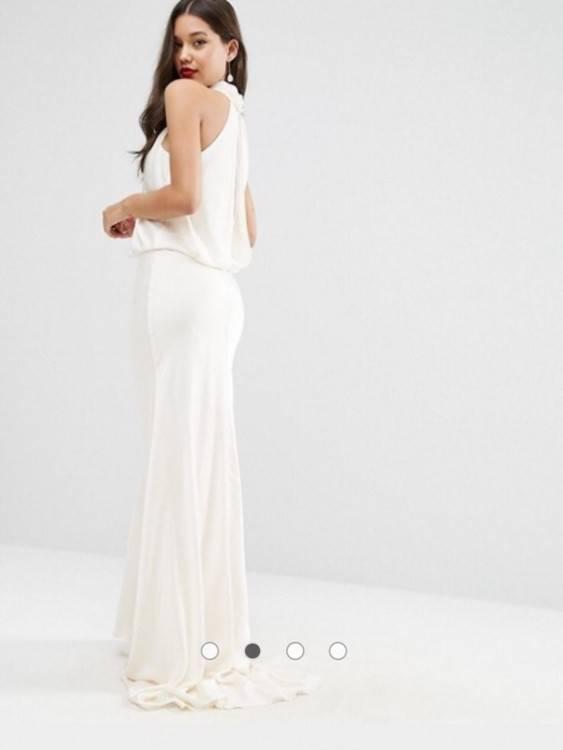 Standesamtkleid, Hochzeitskleid Asos Bridal