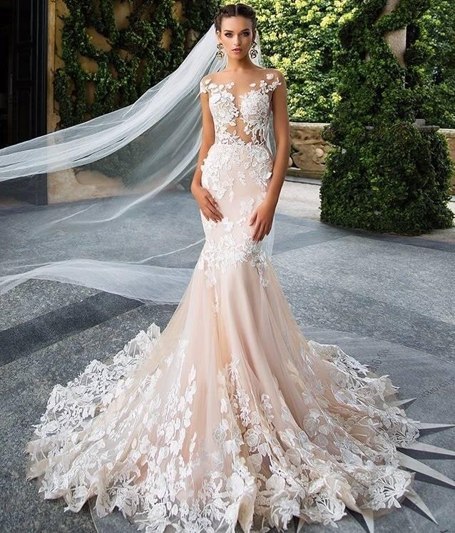 Hochzeitskleid Champagner Hochzeit Größe 48 Top von Weise 3