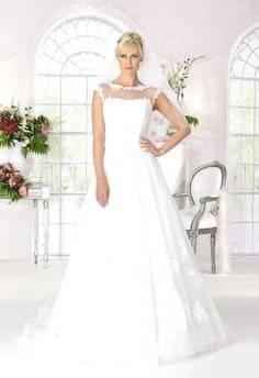 Schwangerschafts Hochzeitskleid Esprit mit Spitze 3