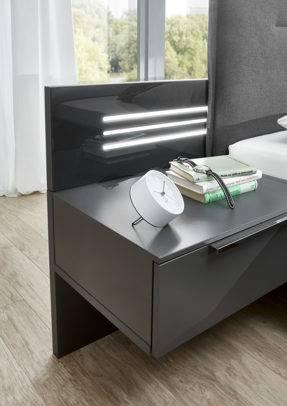 »Nachttisch Wanetta 80 x 65 x