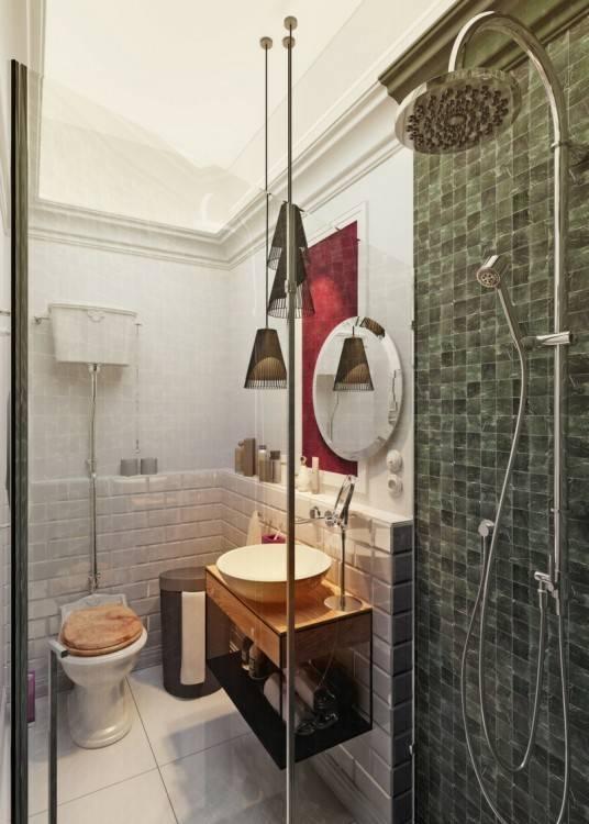 Moderne Badezimmergestaltung – 30 Ideen für kleine Bäder | Badezimmer