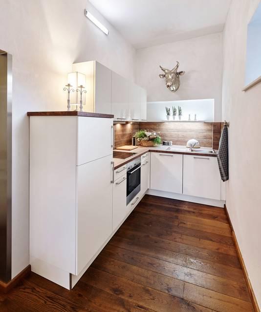 Wer wenig Platz für eine Küche hat, der muss kreativ sein #küche #deutschküche