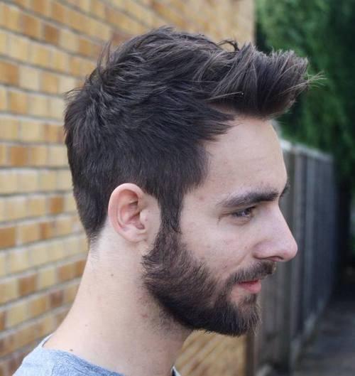 Eine ideale Frisur bei Geheimratsecken