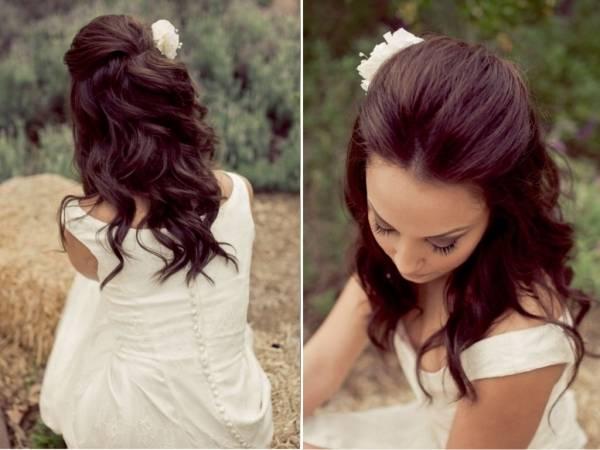 Die meisten Frisur Lange Haare Locken Hochzeit Ideen