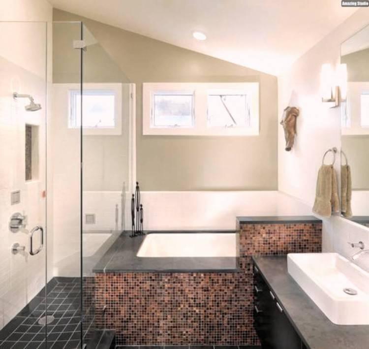umbauen Ein Bad im Dachgeschoß kann vielseitig gestaltet werden