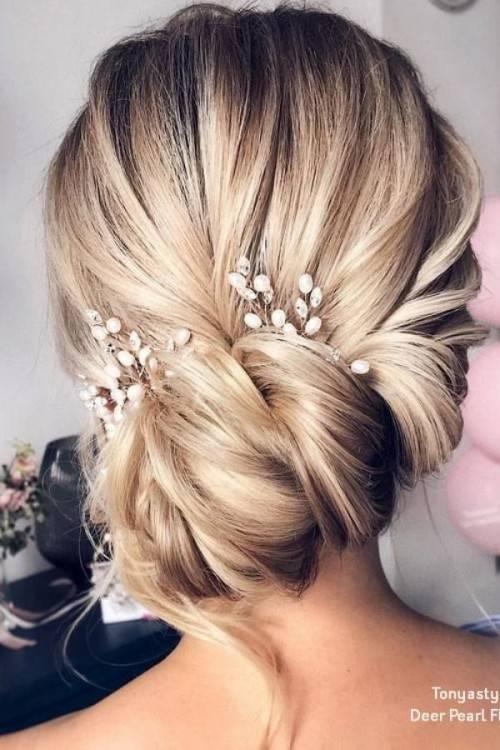 12 hinreißende und schicke Brautfrisuren für kurze und mittellange Haare! –  Seite 8 von 12