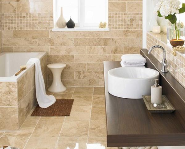 Kleines Badezimmer gestalten – 30 Fliesen Ideen und Tipps